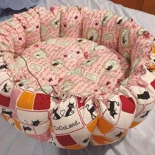 貓咪(寵物)絲棉南瓜床