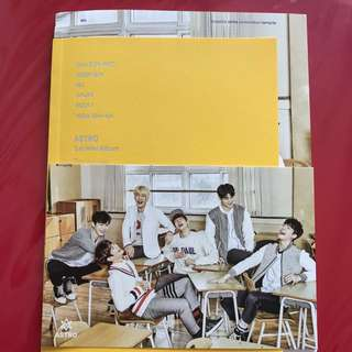 ASTRO Spring Up Album and Postcard