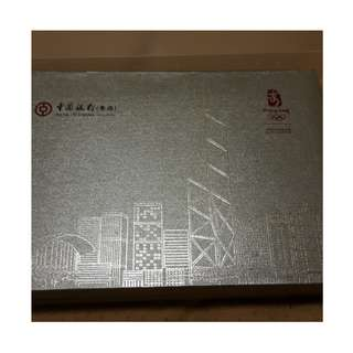 中國銀行2008年奧運(青馬大橋圖案)紙鎮
