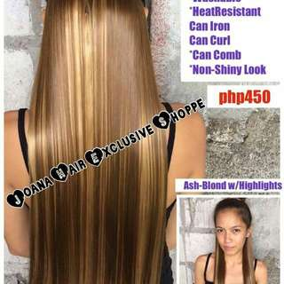 Rebonded Style Clip on hair extension