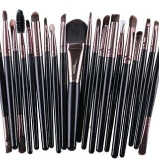 20 Pcs Fashion Professional Cosmetics Beauty Make up Brushes Set