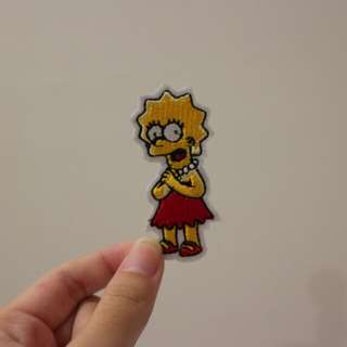 The Simpson Iron On Patch