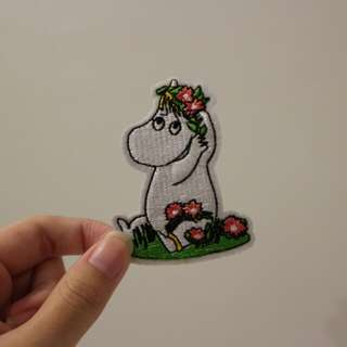 Moomin Iron On Patch