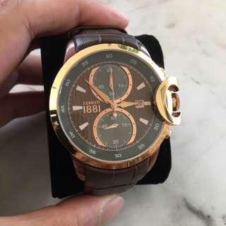 Cerruti 1881 Chieti Chronograph Watch Brown/Gold