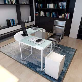 L-Shaped Desk Office Table Computer Table Furniture