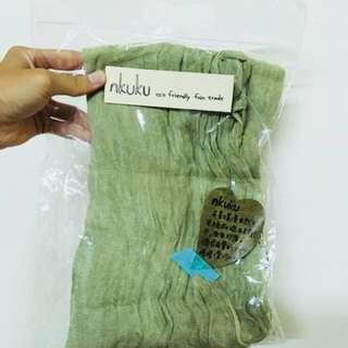 暖暖聖誕禮🎄棉麻混紡圍巾