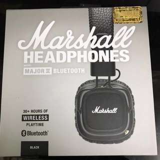 Marshall Major II Bluetooth 藍牙耳機
