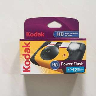 Kodak Powerflash Disposable Film Camera