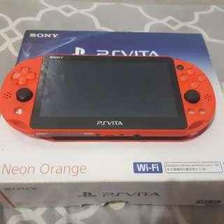 Ps Vita Slim Neon Orange