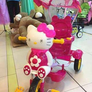 Kid's Bike Stroller Hello kitty& minnie mouse available