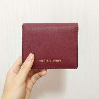 Michael Kors 銀包(Jet Set Travel Saffiano Leather Card Holder)