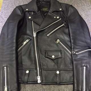 Biker Leather jacket 皮褸