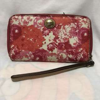 Coach cellphone pouch/ wallet