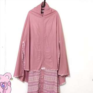 Set syar'i dusty pink