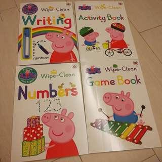 Peppa Pig Wipe Clean Book