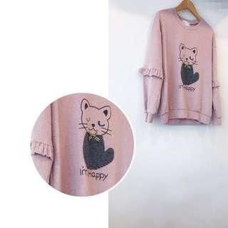 「日系單品」❤️聖誕節大放送❤️🐱貓咪棉質T-shirt