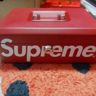 100% Authentic Supreme Lock Box 2017