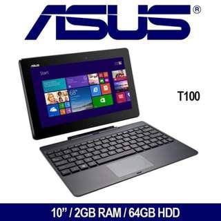"""Refurbished T100 10"""" Laptop"""