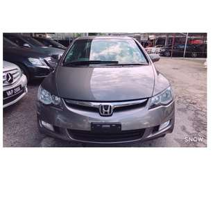 HONDA CIVIC 2.0 I VTEC 2006