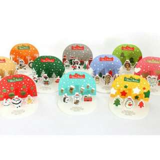 10 Pcs Christmas Card Set