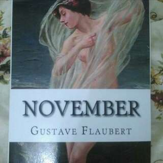 November by Gustave Flaubert