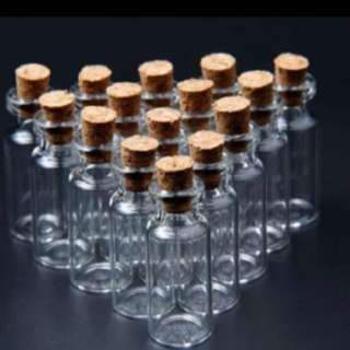 Glass Bottle With Cork!