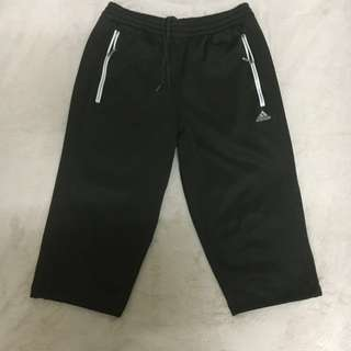 Authentic adidas cropped trackpants
