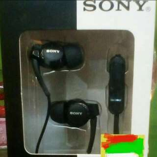 Sony Earphones Black