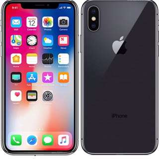 1 month old iPhone X space grey 256gb for sale