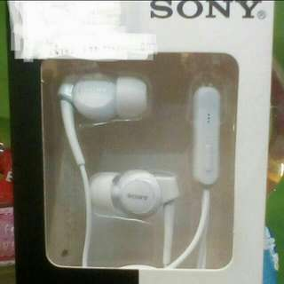 Sony Earphones White