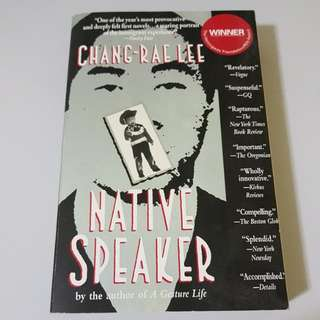 Native Speaker by Chang-Rae Lee