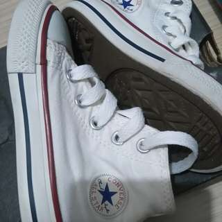 Auth Converse white for baby and kids