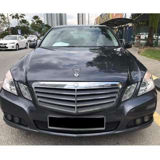 MERC E200 1.8 CGI 2010 ( OFFER)