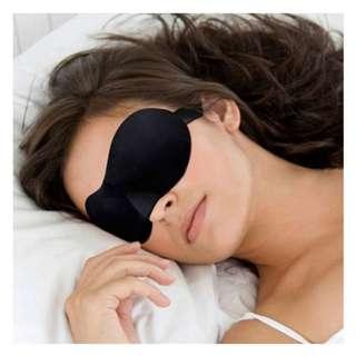 3D Soft Eye Blinder Sleep Mask Sponge Shade Cover Rest Relax Blindfold