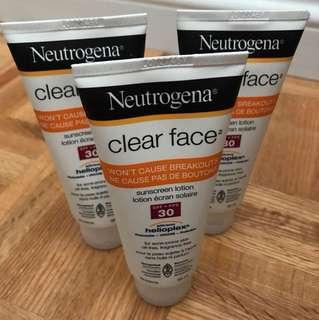 Neutrogena Sunscreen Lotion