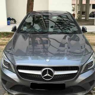 Benz CLA200 /BMW 523i  for Rent(personal)