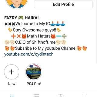 Instagram Account untuk Dijual