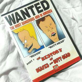 The History of Beavis & Butthead (ORIGINAL DVD)