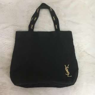 YSL tote canvas bag