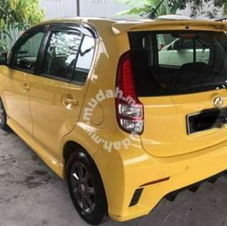 Myvi low milage SE lady Driver 2012