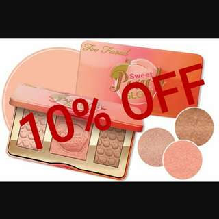 Too Faced Sweet Peach Glow‼️YEAR END SALE‼️FREE NORMAL MAIL‼️