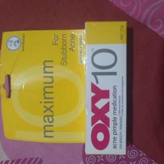 Oxy10 acne pimple bekas jerawat