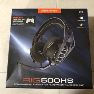Plantronics RIG 500HS gaming headset