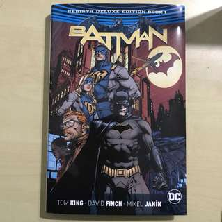 Batman Rebirth Book 1 Deluxe Edition