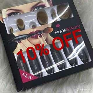 Huda Beauty Oval Brush 6pcs Set