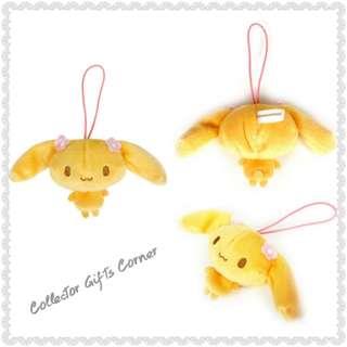 日本 Sanrio 玉桂狗 Cinnamoroll Poron Series 絨毛公仔吊飾  ( Mocha )