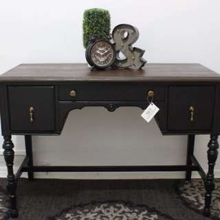 ANTIQUE CONSOLE TABLE WITH MANY USES