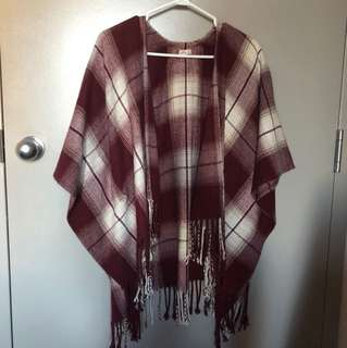 Hollister Poncho