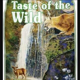 Taste of the wild Cat food 7kg
