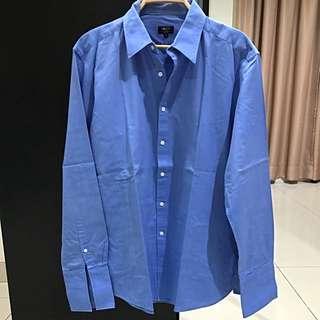 G2000 Slim Fit Blue Shirt (Size 17/35)
